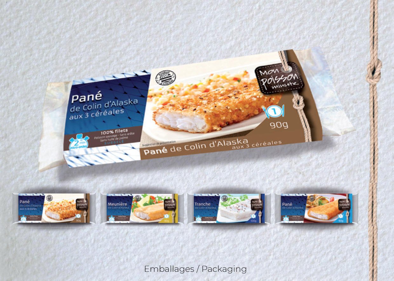 Idées Folles - Packaging Halieutis