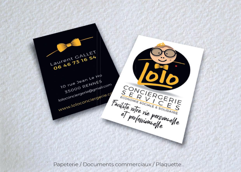 Idées Folles - Cartes Lolo Conciergerie