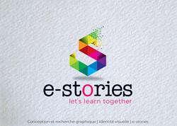 Idées Folles - Logotype e-stories