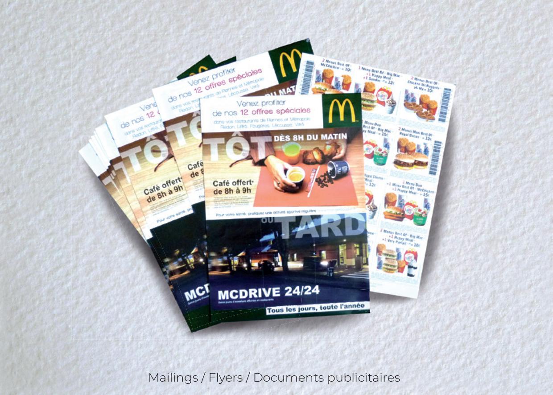 Idées Folles - Mailing McDonald's