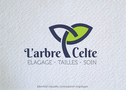 Idées Folles - Logotype L'arbre Celte