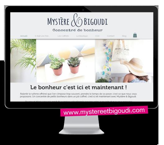 Idées Folles - Site web Mystère et Bigoudi