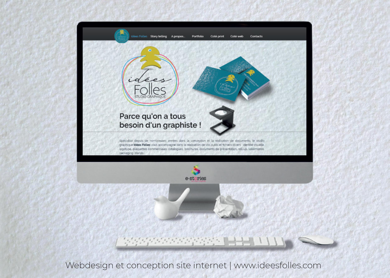 Idées Folles - Site web