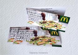 Idées Folles - Invitation McDonald's
