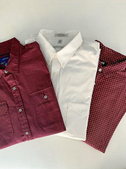 15 X Mix de camisas de marcas americanas
