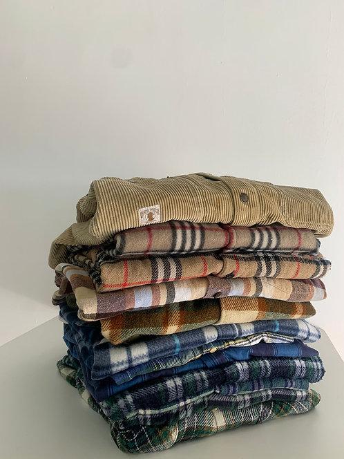 10 KG de camisas de franela