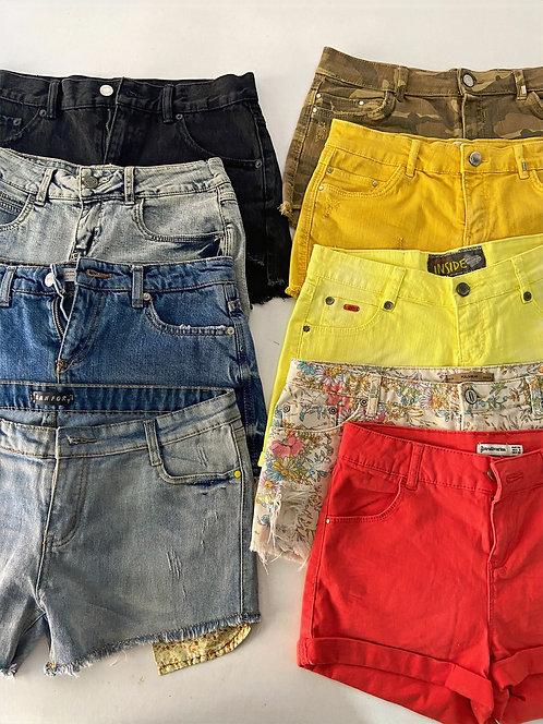 25 X Mix de Pantalones cortos