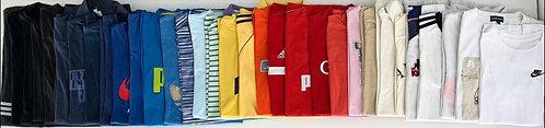15 X Mix de camisetas de marca