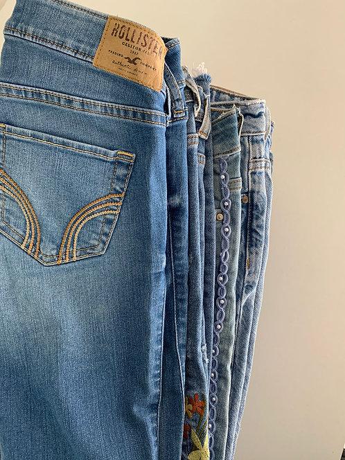 10 KG de pantalones de marca y no marca