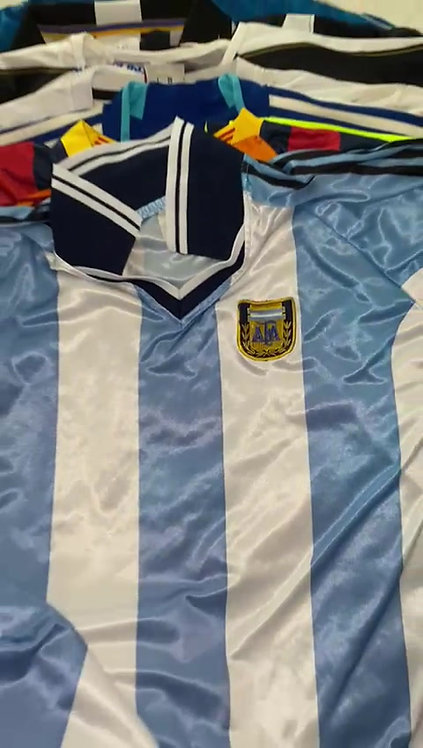 10 X Mix de camsietas de futbol