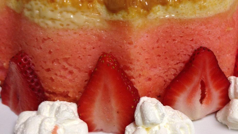 Strawberry-Flan