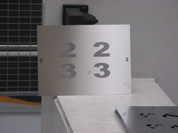 números exteriores