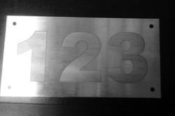 números para fachadas