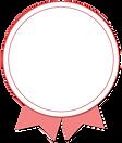 różowy znaczek