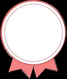 Pink badge