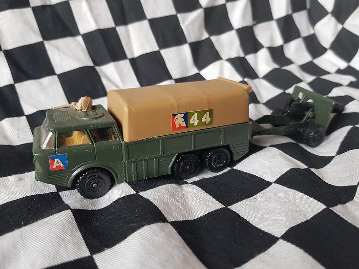 Matchbox Battle Kings Artillery Truck and Cannon