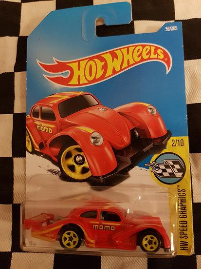 Hotwheels (2015) Volkswagen Kafer Racer red
