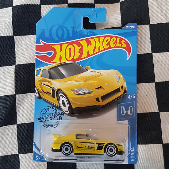 Hot Wheels 2020 Honda Series Honda S2000 yellow