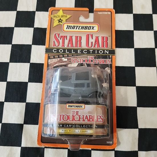 Matchbox 1998 Star Car Collection Ford Model A Coupe The Untouchables