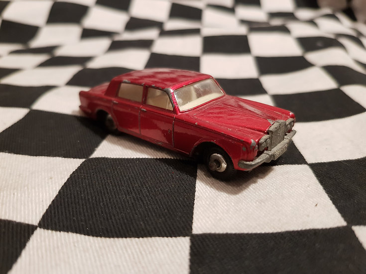 Vintage Matchbox Lesney Rolls Royce Silver Shadow Loose