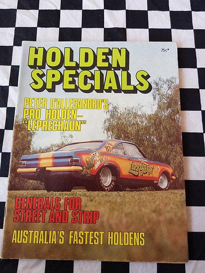 HOLDEN SPECIALS magazine