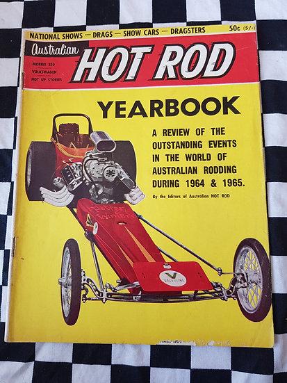 AUSTRALIAN HOTROD YEARBOOK  #1 1965
