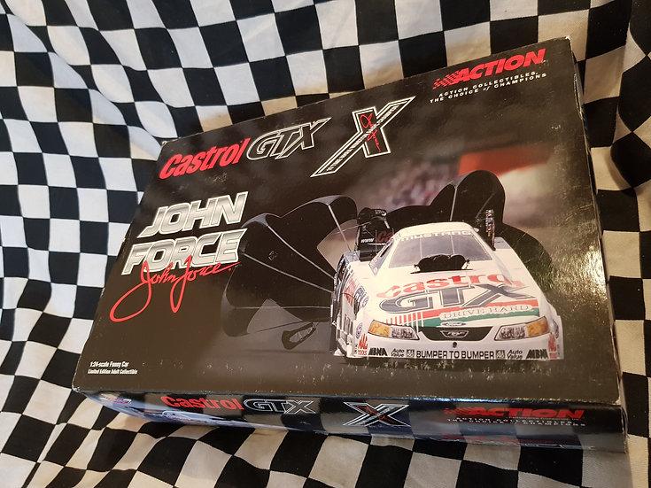 John Force Castrol GTX 1:24 2001 Mustang Funny Car
