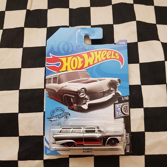 Hot Wheels 2020 Rod Squad 8 Crate 56 Customline Wagon
