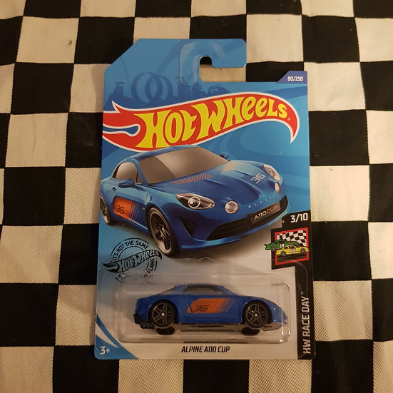 Hot Wheels 2019 Race Day Alpine A110 Cup Blue