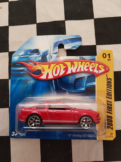 Hot Wheels 2008 First Editions 07 Shelby GT 500