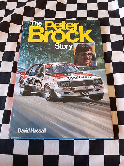 Rare! The Peter Bock Story 1983 Hardcover