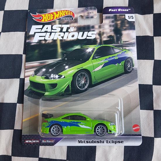 Hot Wheels Premium Fast & Furious Fast Stars Mitsubishi Eclipse