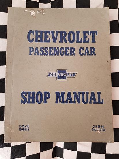 Original Chevrolet 1949 1950 1951 1952 1953 Factory Workshop Manual