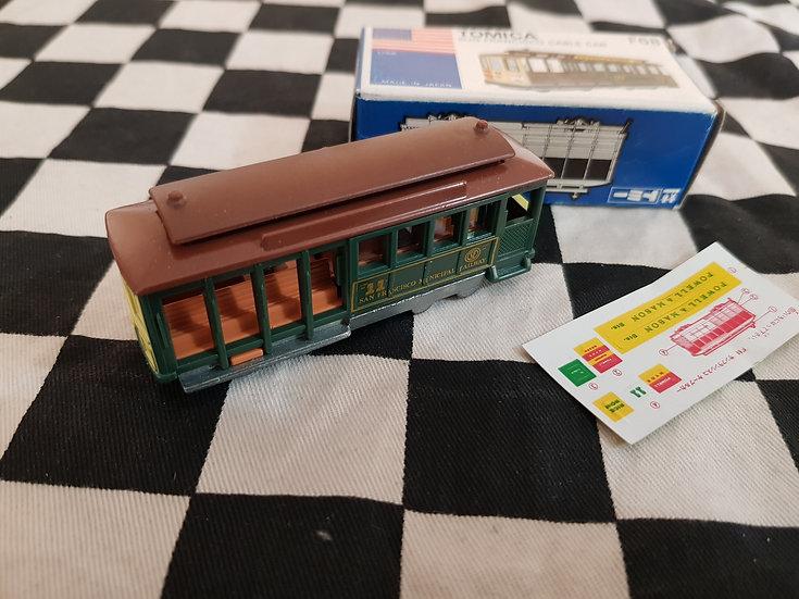 Tomica Vintage San Francisco Cable Car Tram