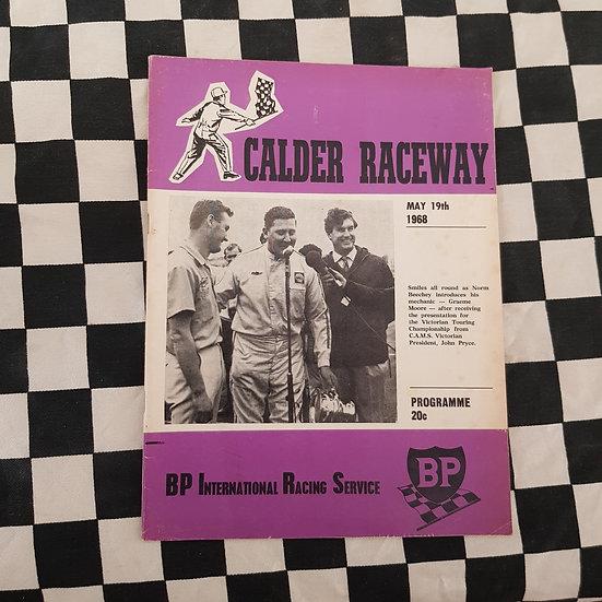 Calder Raceway Motor Racing Program May 19 1968