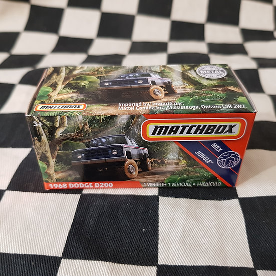 Matchbox Power Grab 1968 Dodge D200