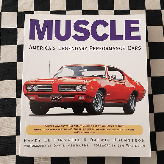 MUSCLE Americas Legendary Performance Cars Book