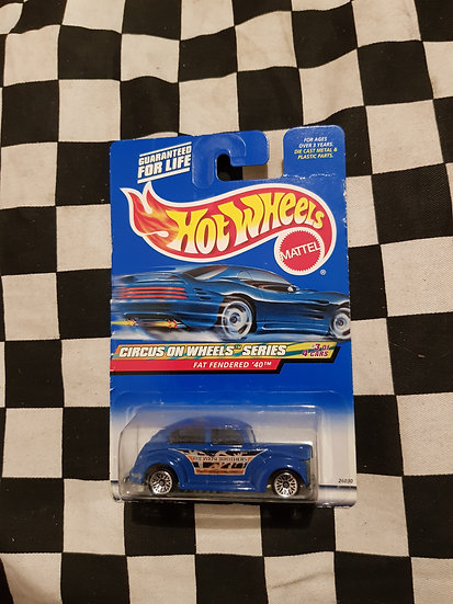 Hot Wheels 1999 Circus on Wheels Series Fat Fendered 40 Ford
