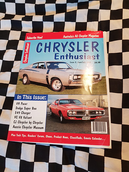 Chrysler Enthusiast Magazine #2 VHTF