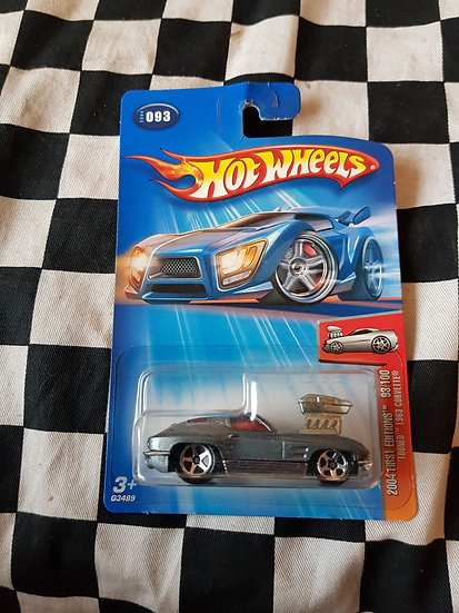 Hot Wheels 2004 First Editions Tooned 1963 Corvette