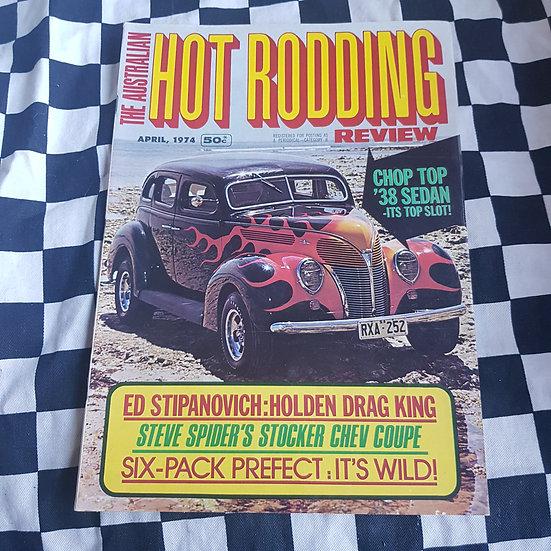 Australian Hot Rodding Review April 1974