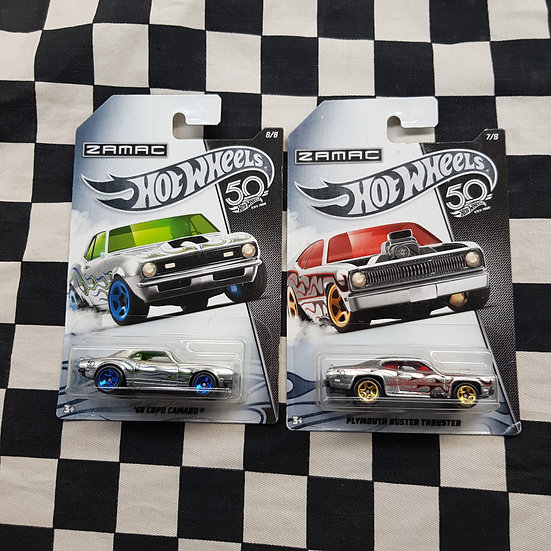 Hot Wheels 2018 Zamac Special Edition Choice of 68 Camaro Plymouth Duster