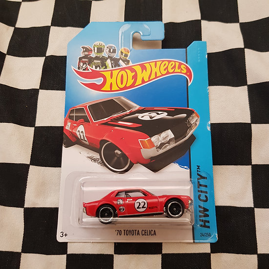Hot Wheels 2013 City 70 Toyota Celica  Red