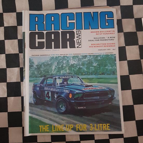 Racing Car News 2/75 Mustang