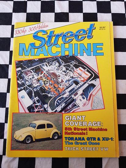 STREET MACHINE issue #5 june july 82