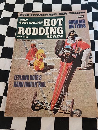 Australian Hot Rodding Review magazine May 1969
