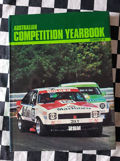 Australian Competition Yearbook #8 1979 Bathurst Torana Brock A9X