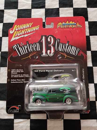 Johnny Lightning 13 Thirteen Customs 40 Ford Panel Delivery