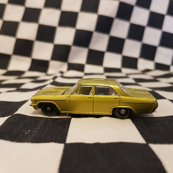Vintage Loose Lesney Opel Diplomat Gold