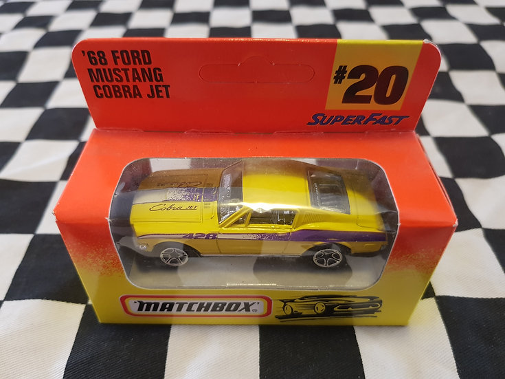 Matchbox 1996 Boxed 68 Ford Mustang Cobra Jet